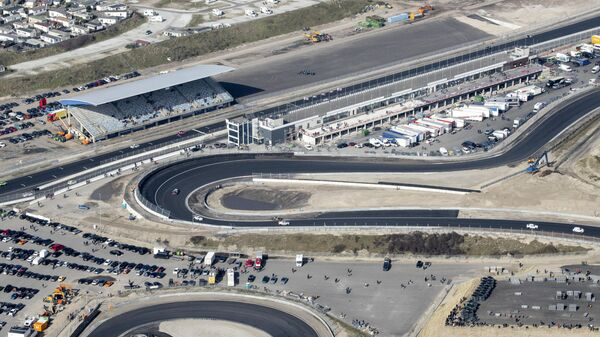 Гоночная трасса Формулы-1 в Нидерландах Зандвоорт