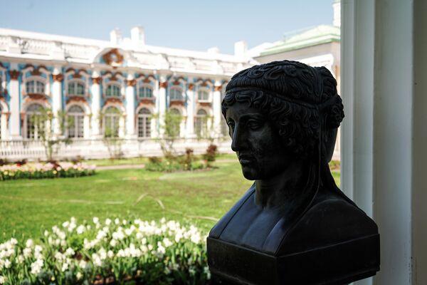 Висячий сад в Царскосельской императорской резиденции Царское село