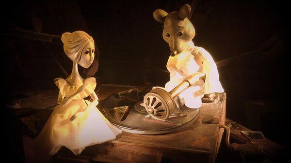 Сцена из спектакля Солнечный луч Московского областного театра кукол