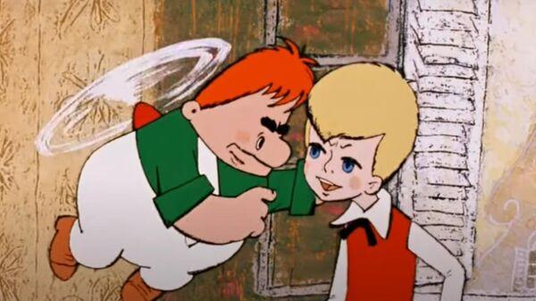 Кадр из мультфильма Карлсон вернулся