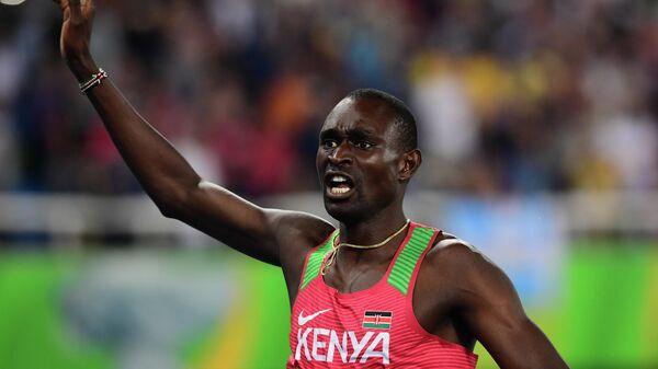 Двукратный олимпийский чемпион в беге на 800 метров кениец Дэвид Рудиша