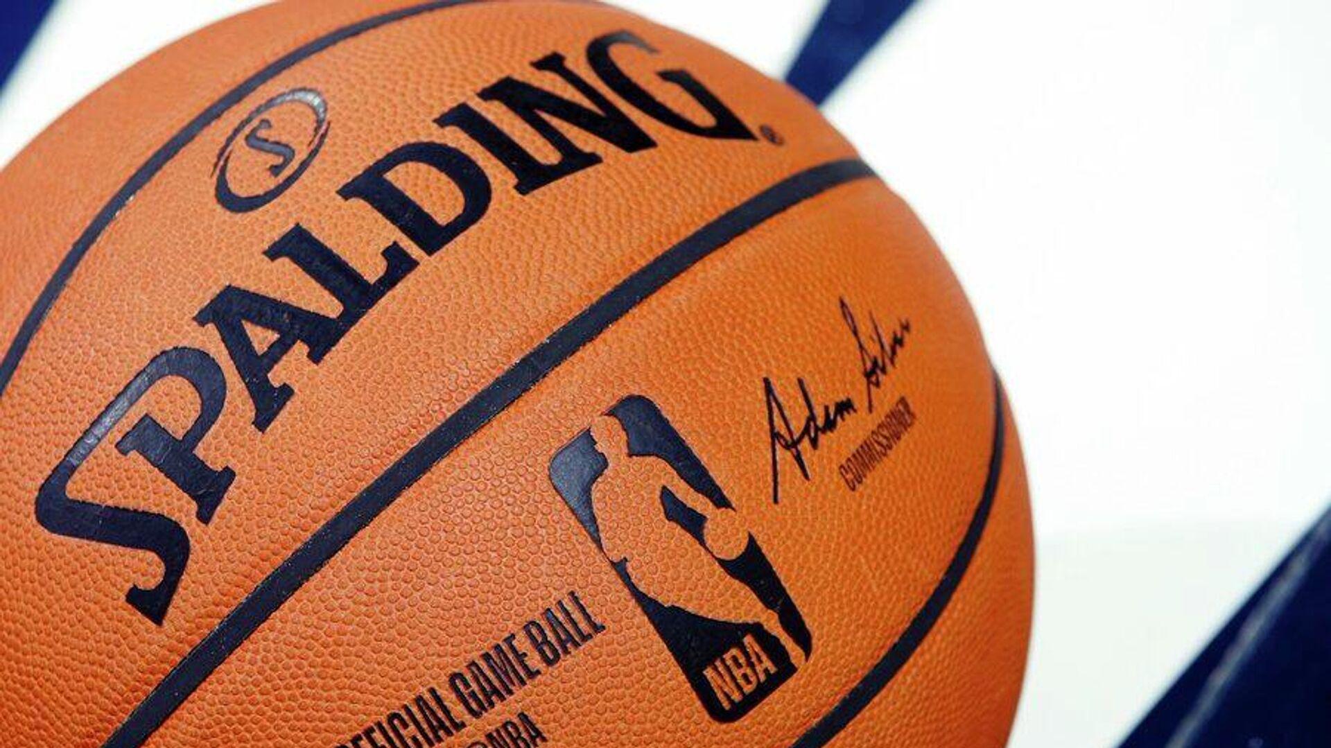 Мяч НБА - РИА Новости, 1920, 09.01.2021
