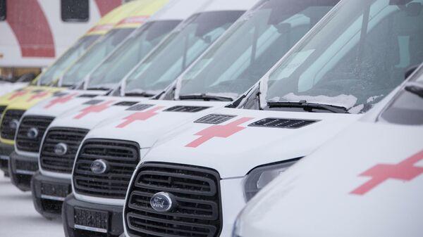 Машины скорой помощи, Кузбасс