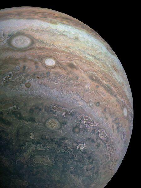 Южное полушарие Юпитера