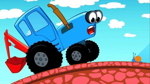 Кадр из мультфильма Синий трактор