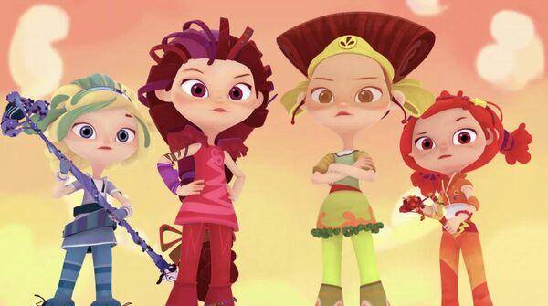 Кадр из мультфильма Сказочный патруль