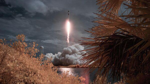 Первый пилотируемый запуск корабля Crew Dragon