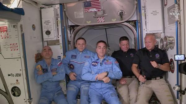 Crew Dragon покинет МКС с двумя астронавтами НАСА 1 августа