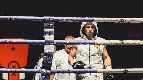 Боксер Александр Подольский (Россия)