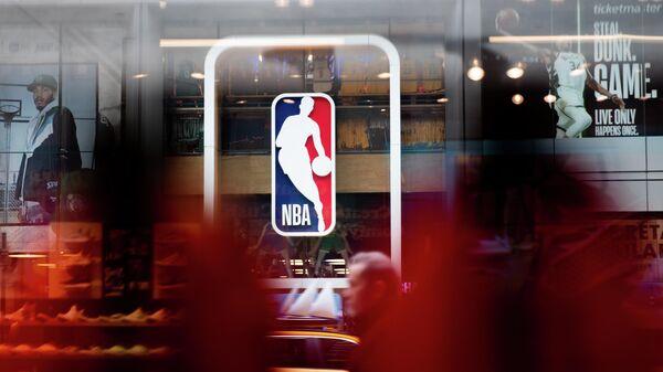 Логотип Национальной баскетбольной ассоциации (НБА)
