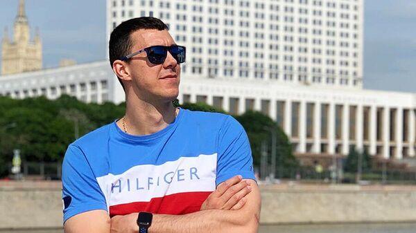 Игрок ВК Факел Алексей Сафонов