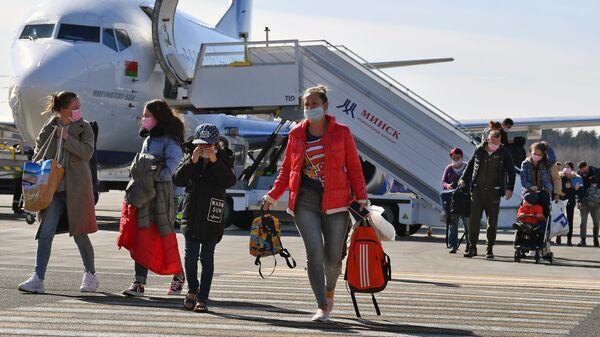 МИД РФ: около 650 граждан Белоруссии вернулись на родину через Москву