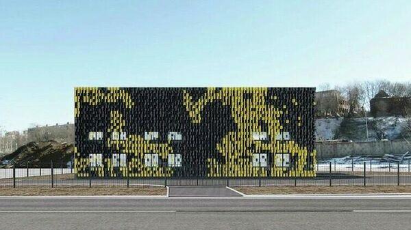 Проект очистного сооружения Мосводостока на улице Ленинская Слобода