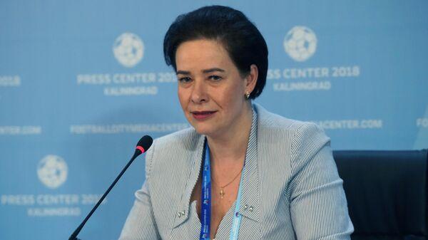 Министр развития инфраструктуры Калининградской области Елена Дятлова