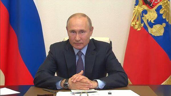 Путин: Русский язык является основой нашей национальной идентичности
