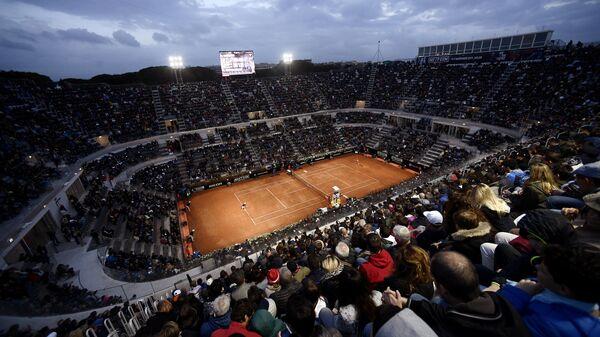 Теннисный корт турнира серии Мастерс в Риме
