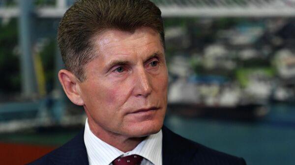 Олег Кожемяко в администрации Приморья