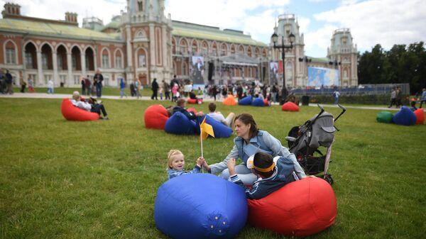 Фестиваль Московская семья в честь Дня семьи, любви и верности
