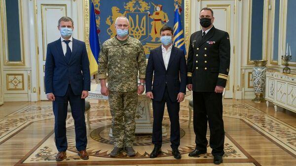Президент Украины Владимир Зеленский назначил Алексея Неижпапу командующим Военно-морских сил Вооруженных сил Украины