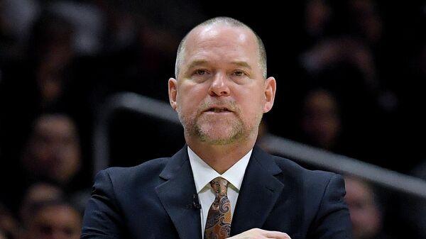 Главный тренер клуба НБА Денвер Наггетс Майкл Мэлоун