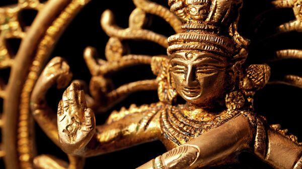 Декоративная статуэтка индийского бога Шивы