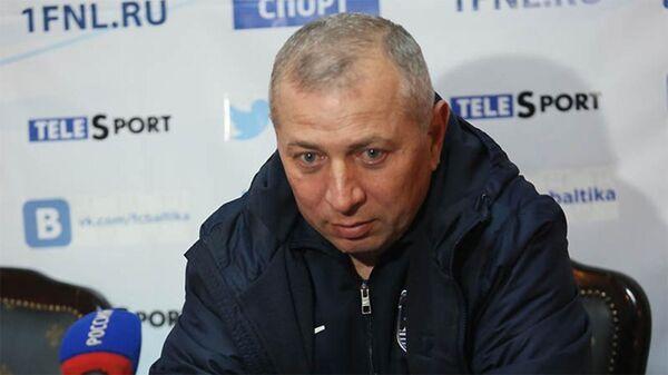 Бывший тренер новороссийского Черноморца Хазрет Дышеков