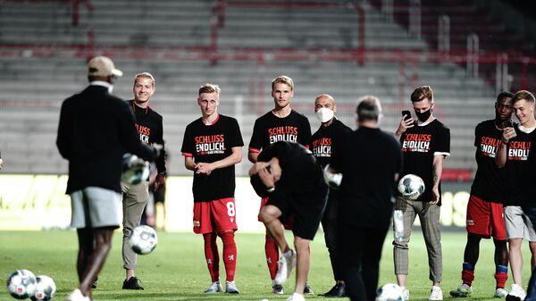 Футболисты Унион Берлин