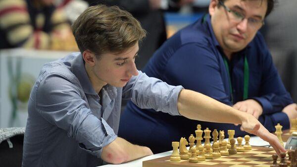 Российский шахматист Даниил Дубов