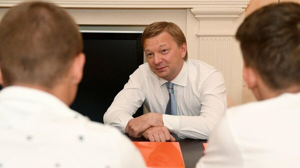 Генеральный директор донецкого Шахтера Сергей Палкин