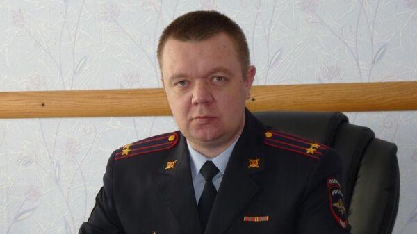 Врио начальника ОМВД России по Золотухинскому району Курской области Дмитрий Борзенков
