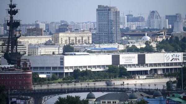 Государственная Третьяковская галерея на Крымском Валу в Москве