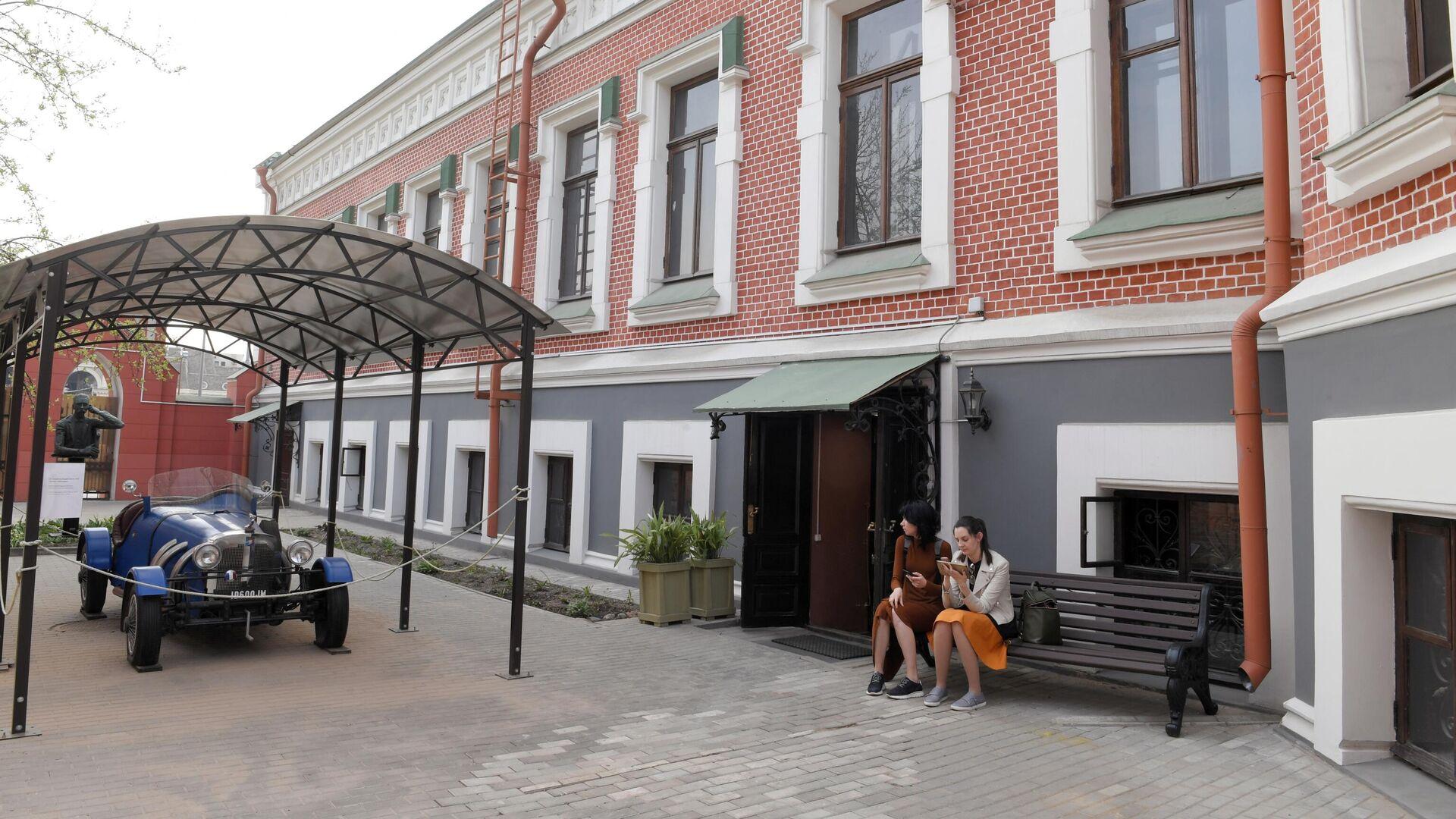 Главный дом Бахрушинского музея - РИА Новости, 1920, 11.09.2020