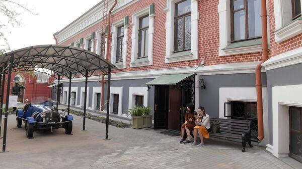 Главный дом Бахрушинского музея