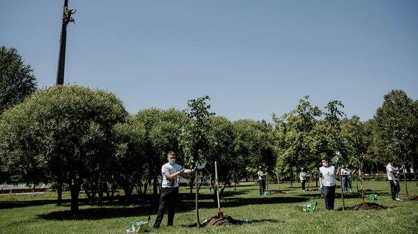 Акция Сад памяти в Москве