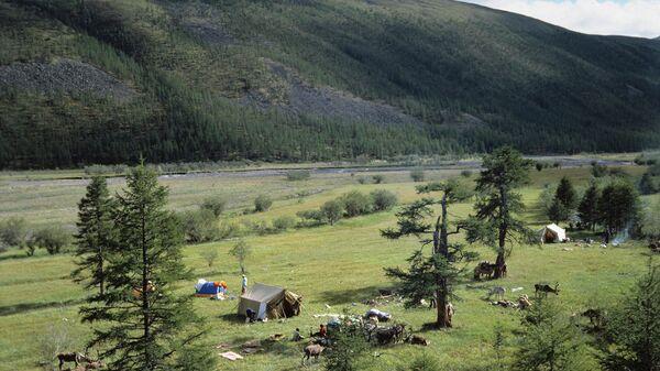 Верхоянские горы в Якутии