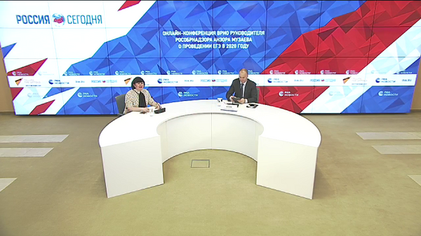 Онлайн-конференция врио руководителя Рособрнадзора Анзора Музаева о проведении ЕГЭ в 2020 году