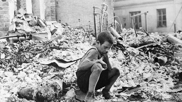Маленькие герои большой войны. Саша Филиппов