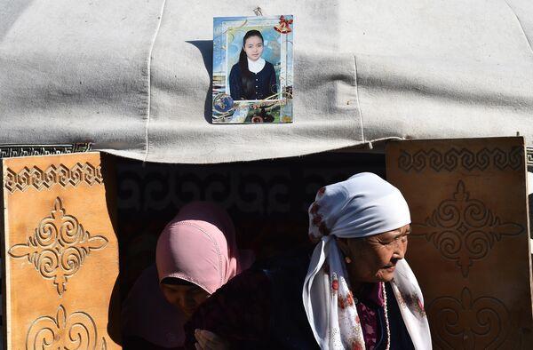 Родственники поминают 20-летнюю Бурулай Турдалы кызы