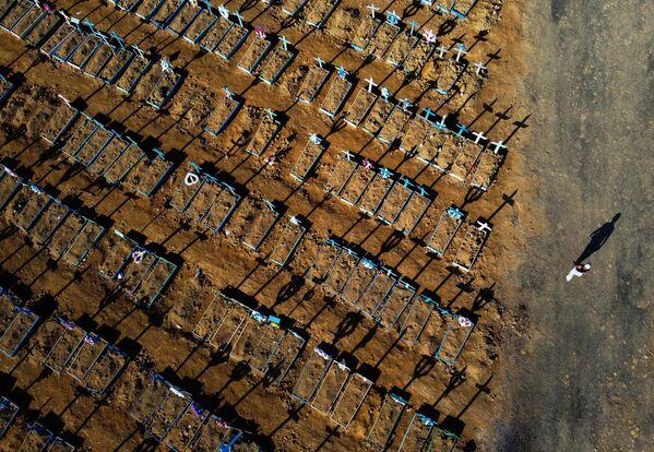 Кладбище Носа-Сеньора-Апаресида в бразильском Манаусе