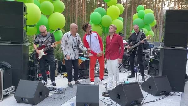 Сергей Мазаев, Максим Галкин и Николай Басков