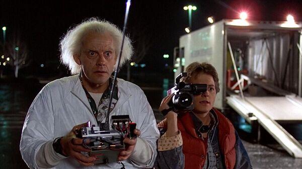 Кадр из фильма Назад в будущее