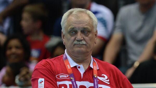 Главный тренер российской сборной по водному поло Александр Кабанов