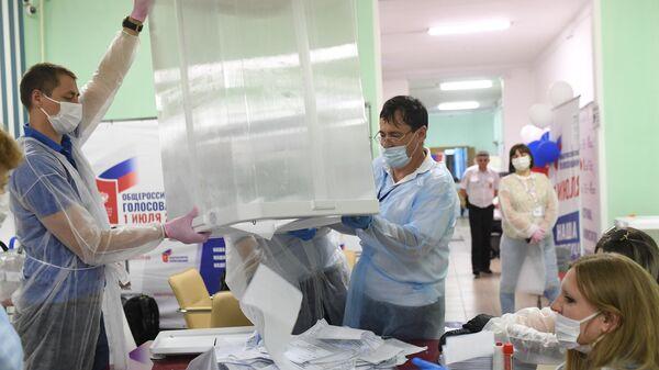 Голосование по внесению поправок в Конституцию РФ в регионах России/ Голосование по поправкам в Конституцию РФ в госпиталях COVID-19