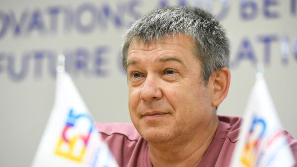 Глава российского заявочного комитета Всемирной выставки ЭКСПО-2025 Александр Чернов.