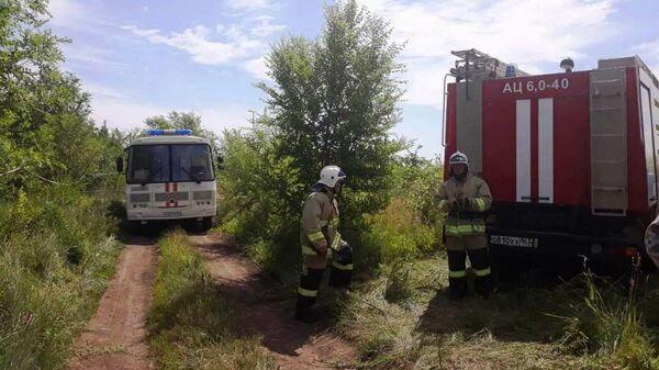 Авария на газопроводе в Самарской области