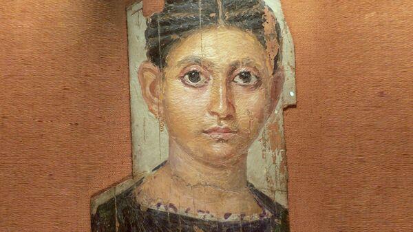 Портрет молодой девушки. Лувр.