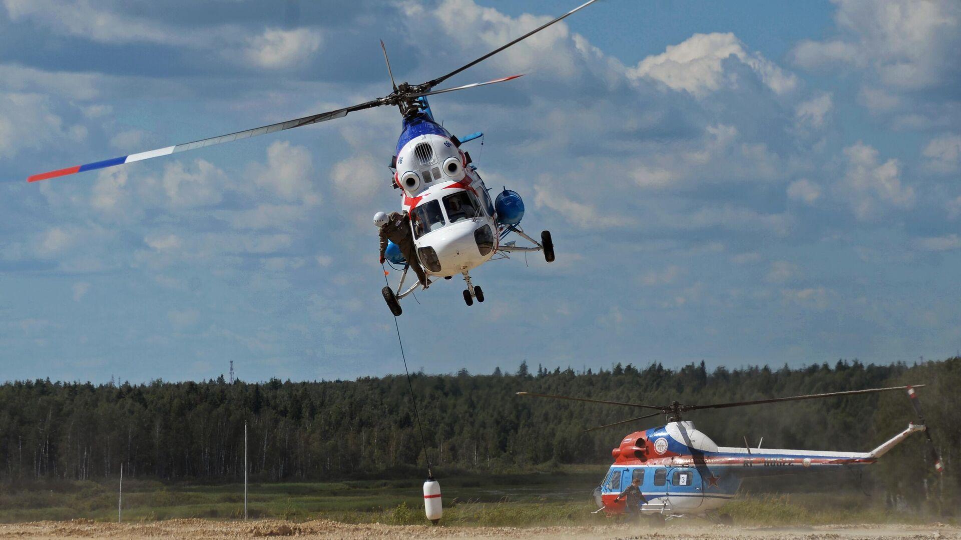 Вертолет МИ-2 - РИА Новости, 1920, 17.04.2021