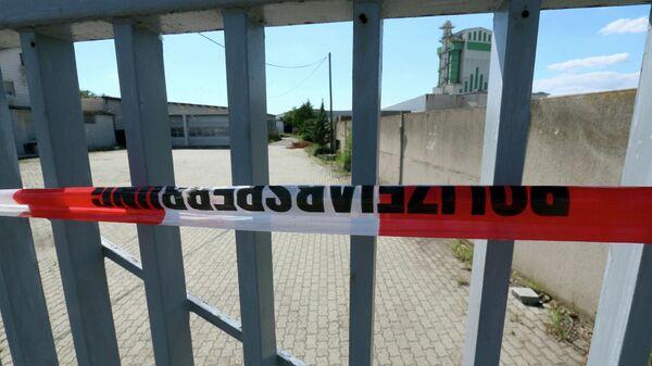 Место убийства в городе Герасдорф недалеко от Вены
