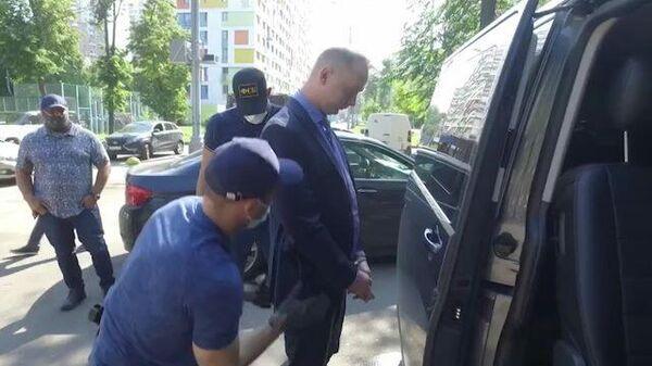 Задержание Ивана Сафронова