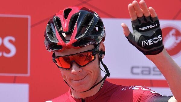 Британский велогонщик Крис Фрум